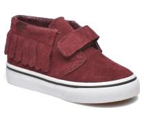 Chukka V Moc BB Sneaker in weinrot