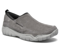 Swiftwater Suede Moc M Slipper in grau