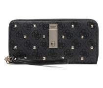 Portefeuille Large Zip Around Nissana Portemonnaies & Clutches für Taschen in schwarz