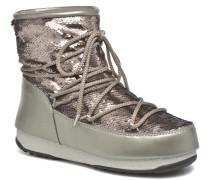 We Low Paillettes Stiefeletten & Boots in grau