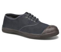 Tennis Vintage Velours Sneaker in grau