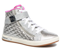 Shoutouts Quilted Crush Sneaker in silber