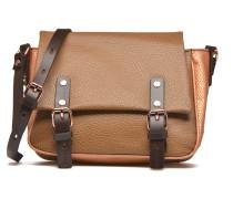 Petite gibecière grainée Handtaschen für Taschen in braun