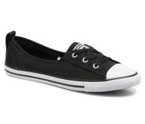 Chuck Taylor All Star Ballet Lace Sneaker in schwarz