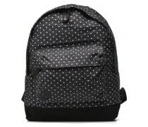 Premium Denim Rucksack in schwarz