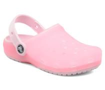 Chameleons Translucent Clog Kids Sandalen in rosa