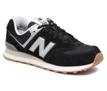 Ml574 Sneaker in schwarz