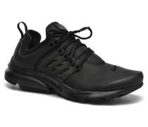 W Air Presto Print Sneaker in schwarz