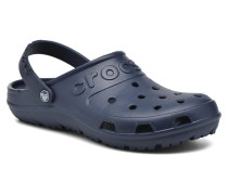 Hilo Clog Sandalen in blau