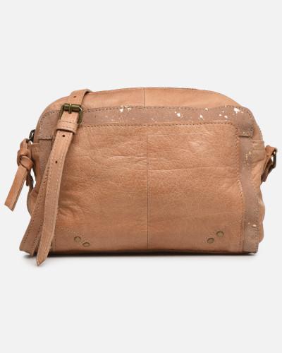 BETHANY LEATHER CROSSBODY Handtasche in braun