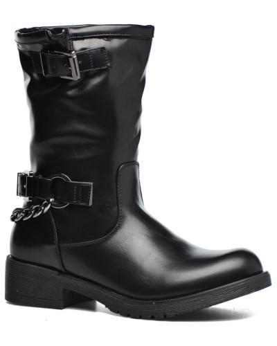 Brook Stiefel in schwarz