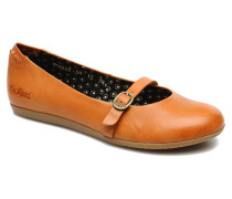 Ligue Ballerinas in orange
