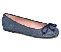 Rosario Glitter Ballerinas in blau
