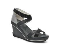 Gouy Sandalen in schwarz