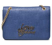Shoulder bag Love Handtaschen für Taschen in blau