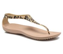 Sexi Leopard Print Flip W Sandalen in mehrfarbig