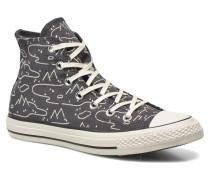 Chuck Taylor All Star Hi Journey Print W Sneaker in grau