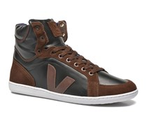 Spma leather Sneaker in schwarz
