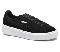 WNS Suede Creepers Sneaker in schwarz