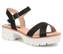 New Plex Sandalen in schwarz