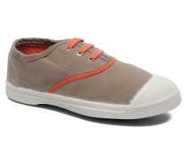 Tennis Colorpiping E Sneaker in beige