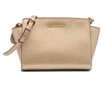 SELMA MD Messenger Handtaschen für Taschen in goldinbronze
