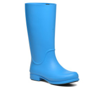 Wellie Rain Boots F Stiefel in blau