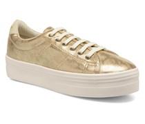 Plato Sneaker Print Fauve in goldinbronze