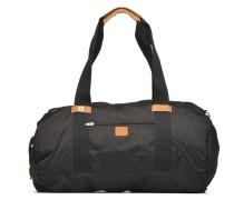 Big duffle bag nylon Reisegepäck für Taschen in schwarz