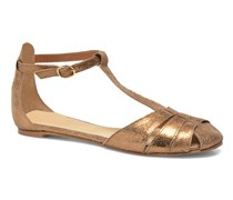 Dowdies Sandalen in goldinbronze