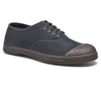 Tennis Lacets Vintage Velours M Sneaker in blau