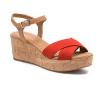 Kiber Sandalen in rot