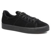 Sita lace up Sneaker in schwarz