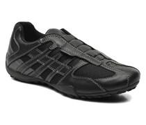 U SNAKE L U4207L Sneaker in schwarz