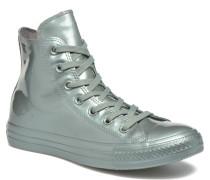 Ctas Metallic Rubber Hi W Sneaker in grün