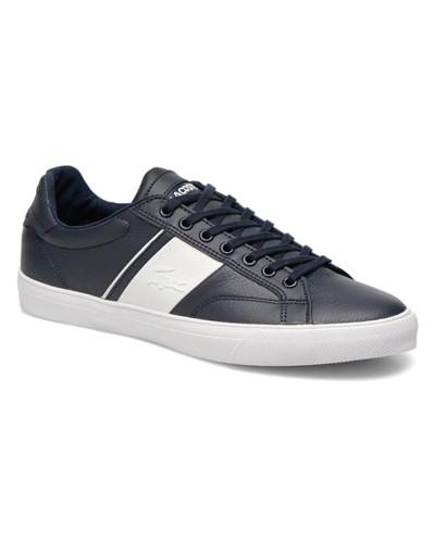lacoste herren sale 30 lacoste fairlead rei sneaker f r herren blau 30 reduziert. Black Bedroom Furniture Sets. Home Design Ideas