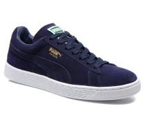 Suede classic eco W Sneaker in blau