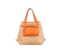 K Rafia Tressé Handtaschen für Taschen in orange