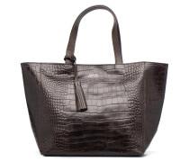 Cabas Parisien Façon Croco Handtaschen für Taschen in braun
