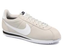 Classic Cortez Nylon Sneaker in beige
