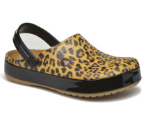 Crocband Leopard II clog Clogs & Pantoletten in mehrfarbig
