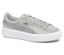 Wns Basket Platform Safa Sneaker in grau