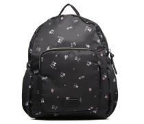 Annie Backpack Flower Rucksäcke für Taschen in schwarz