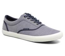 JFW Kos Chambray Contrast Sneaker in blau