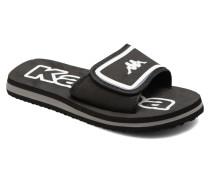 Fedora 4 Sandalen in schwarz