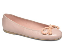 Rosario thick lace Ballerinas in beige