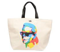 SW KARL CANVAS SHOPPER Handtaschen für Taschen in weiß