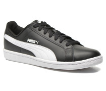 Smash Leather Sneaker in schwarz
