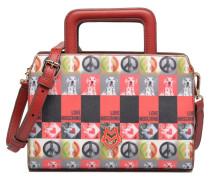 Sac imprimé Poupées Double porté Handtaschen für Taschen in rot