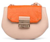 MAELLE Leather Crossbody flap Handtasche in mehrfarbig